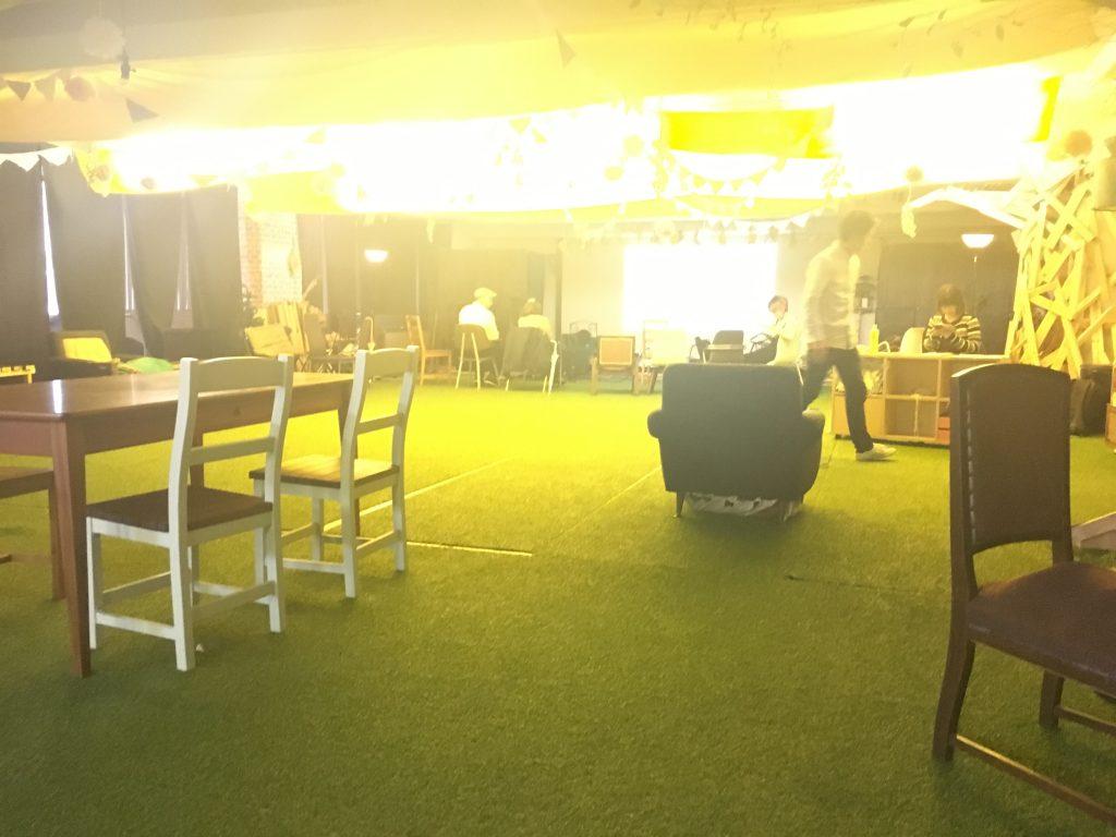 ここを舞台に、幾人の起業家が巣立っていくんだろう、と感じさせる空間でした
