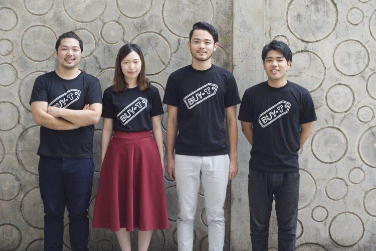 IT留学のアクトハウス、6ヶ月コースに参加中に、アパレルブランドの起業に取り組んだ4名。